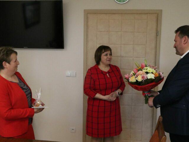 Na zdjęciu dr n. o zdrowiu Barbara Stawarz, dr Sławomir Solecki, dr Edyta Guty